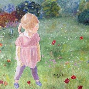5x5 -570 Pixels - Lana in a Field of Flowers copy 2