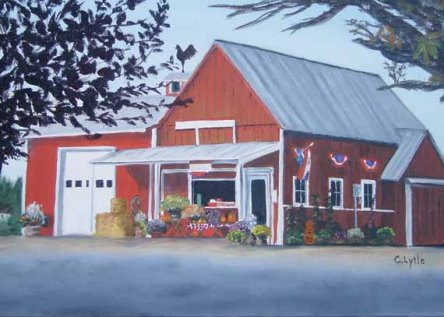 7x5 - 570 pixels -Felida Red Barn copy 2