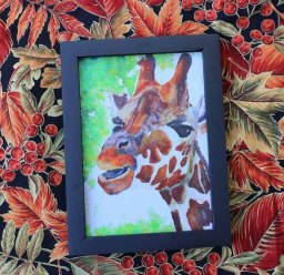 Giraffe with Black frame_-570 pixels-edited-1 copy