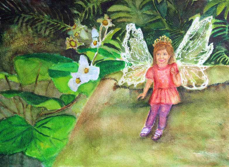 570 Pixels - Fairy in the Woods - Locklyn copy